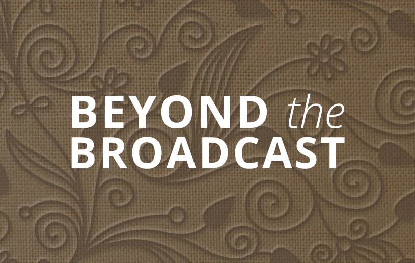 Beyond the Broadcast: What If God Chooses You to do Something Great?