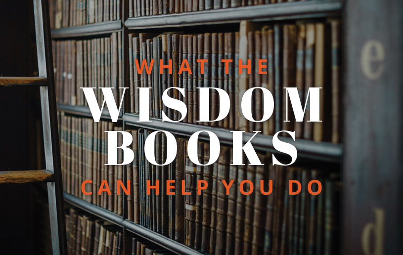 What the Wisdom Books Can Help You Do