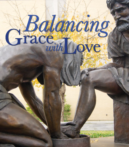 Artwork for Balancing Grace with Love