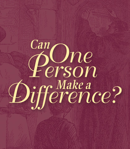 Artwork for Can One Person Make a Difference?