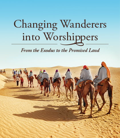 Artwork for Changing Wanderers into Worshippers: From the Exodus to the Promised Land