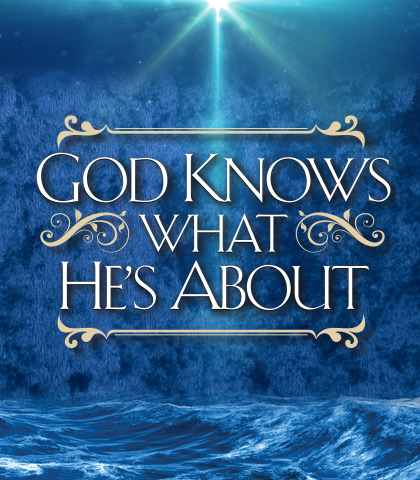Artwork for God Knows What He's About