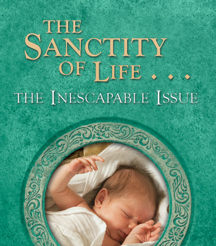 Artwork for The Sanctity of Life...The Inescapable Issue