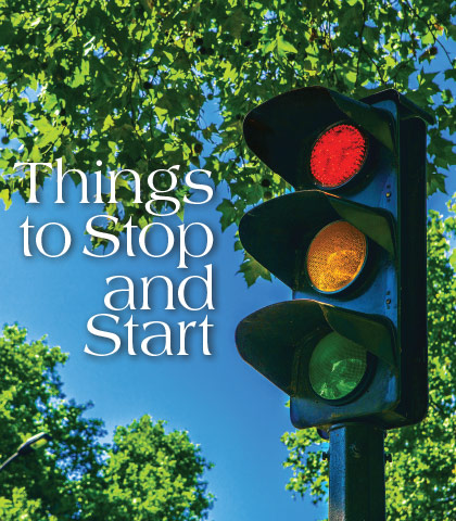 Artwork for Things to Stop and Start